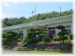 竹島小中学校 外観写真